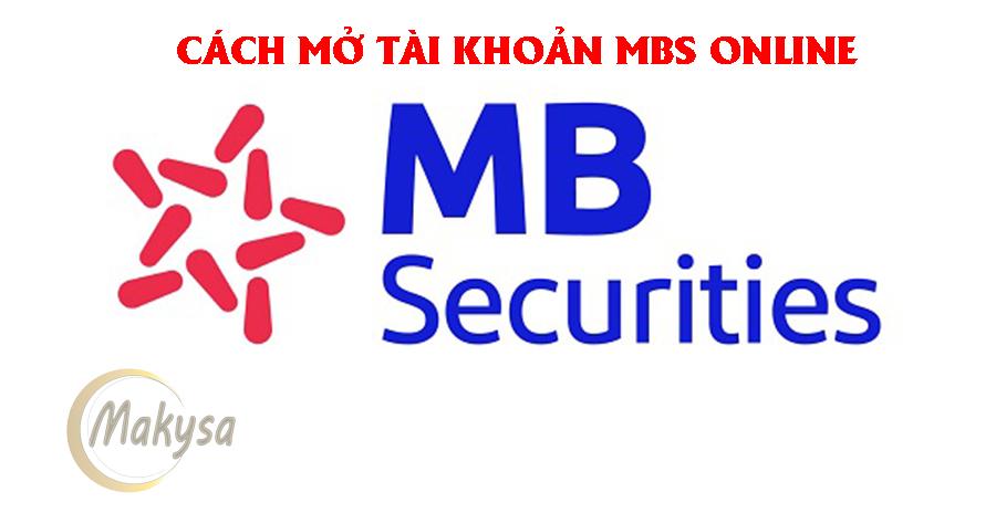 mở tài khoản MBS online