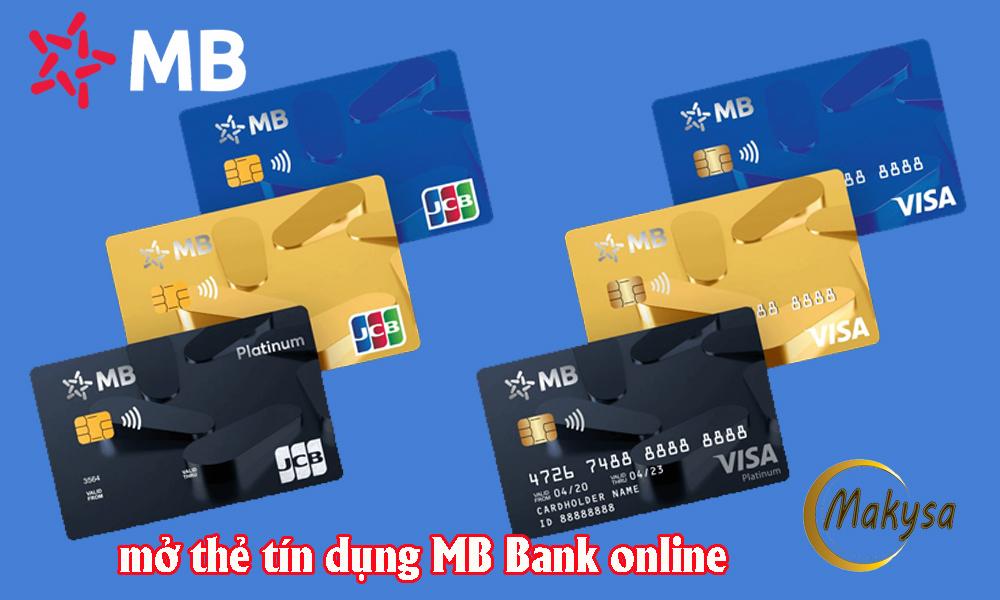 cách mở thẻ tín dụng mb bank online